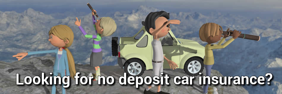 Looking for no deposit car insurance image